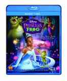 Disney's The Princess and the Frog Blu-Ray