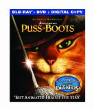 Puss in Boots 2011 Film Blu-Ray